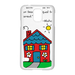 No School Greater    Samsung Galaxy S5 Case (white) by athenastemple