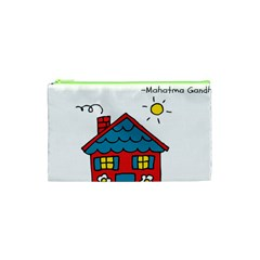No School Greater    Cosmetic Bag (xs) by athenastemple