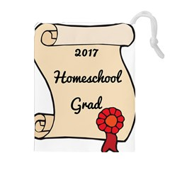 2017 Homeschool Grad! Drawstring Pouches (extra Large) by athenastemple