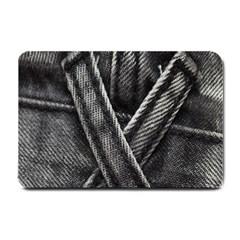 Backdrop Belt Black Casual Closeup Small Doormat  by Nexatart