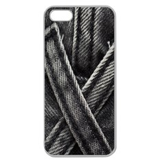 Backdrop Belt Black Casual Closeup Apple Seamless Iphone 5 Case (clear) by Nexatart