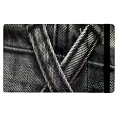 Backdrop Belt Black Casual Closeup Apple Ipad 2 Flip Case