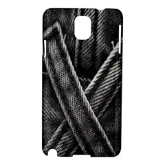 Backdrop Belt Black Casual Closeup Samsung Galaxy Note 3 N9005 Hardshell Case by Nexatart