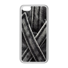 Backdrop Belt Black Casual Closeup Apple Iphone 5c Seamless Case (white)