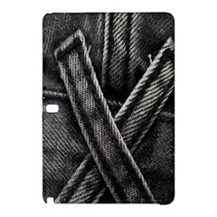 Backdrop Belt Black Casual Closeup Samsung Galaxy Tab Pro 12 2 Hardshell Case by Nexatart