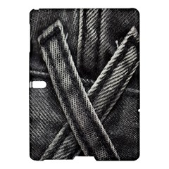 Backdrop Belt Black Casual Closeup Samsung Galaxy Tab S (10 5 ) Hardshell Case  by Nexatart