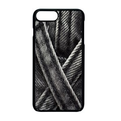 Backdrop Belt Black Casual Closeup Apple Iphone 7 Plus Seamless Case (black) by Nexatart