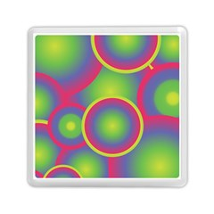Background Colourful Circles Memory Card Reader (square)  by Nexatart