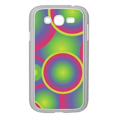 Background Colourful Circles Samsung Galaxy Grand Duos I9082 Case (white)