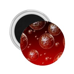 Background Red Blow Balls Deco 2 25  Magnets