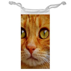 Cat Red Cute Mackerel Tiger Sweet Jewelry Bag by Nexatart