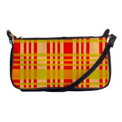 Check Pattern Shoulder Clutch Bags by Nexatart