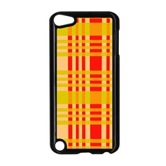 Check Pattern Apple Ipod Touch 5 Case (black) by Nexatart