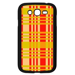 Check Pattern Samsung Galaxy Grand DUOS I9082 Case (Black) by Nexatart
