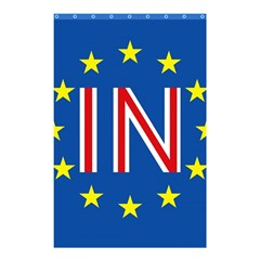 Britain Eu Remain Shower Curtain 48  X 72  (small)  by Nexatart