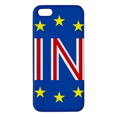 Britain Eu Remain Apple Iphone 5 Premium Hardshell Case