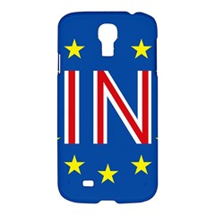 Britain Eu Remain Samsung Galaxy S4 I9500/i9505 Hardshell Case