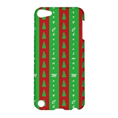 Christmas Tree Background Apple Ipod Touch 5 Hardshell Case by Nexatart