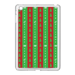 Christmas Tree Background Apple Ipad Mini Case (white)