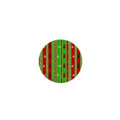 Christmas Paper Pattern 1  Mini Magnets by Nexatart