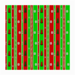 Christmas Paper Pattern Medium Glasses Cloth by Nexatart