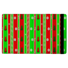 Christmas Paper Pattern Apple Ipad 2 Flip Case by Nexatart
