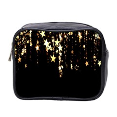 Christmas Star Advent Background Mini Toiletries Bag 2 Side