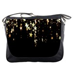 Christmas Star Advent Background Messenger Bags Front