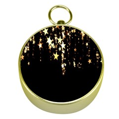 Christmas Star Advent Background Gold Compasses by Nexatart