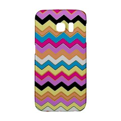Chevrons Pattern Art Background Galaxy S6 Edge by Nexatart