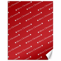 Christmas Paper Background Greeting Canvas 12  x 16