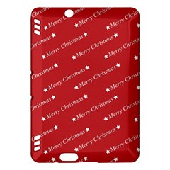 Christmas Paper Background Greeting Kindle Fire HDX Hardshell Case