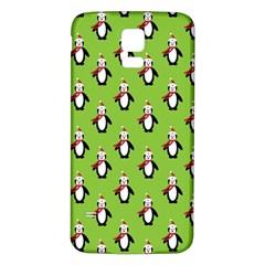 Christmas Penguin Penguins Cute Samsung Galaxy S5 Back Case (white)