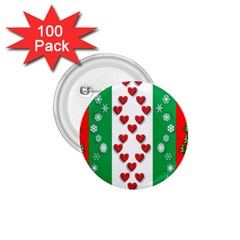 Christmas Snowflakes Christmas Trees 1 75  Buttons (100 Pack)