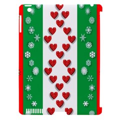 Christmas Snowflakes Christmas Trees Apple Ipad 3/4 Hardshell Case (compatible With Smart Cover)