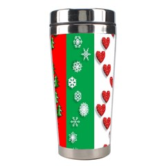 Christmas Snowflakes Christmas Trees Stainless Steel Travel Tumblers