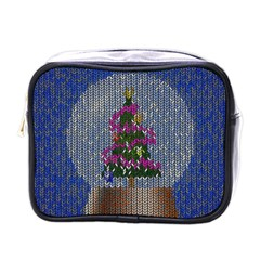 Christmas Snow Mini Toiletries Bags by Nexatart