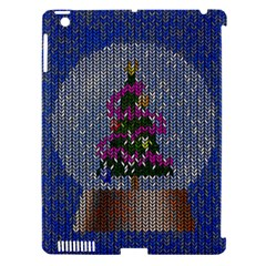 Christmas Snow Apple Ipad 3/4 Hardshell Case (compatible With Smart Cover)