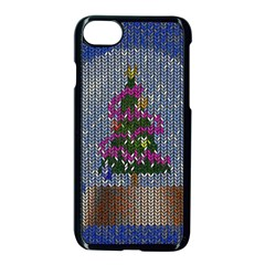 Christmas Snow Apple Iphone 7 Seamless Case (black) by Nexatart