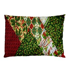 Christmas Quilt Background Pillow Case (two Sides)