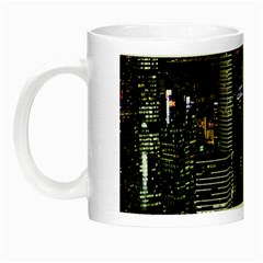 City At Night Lights Skyline Night Luminous Mugs