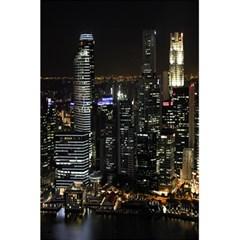 City At Night Lights Skyline 5 5  X 8 5  Notebooks