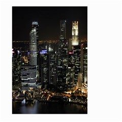 City At Night Lights Skyline Large Garden Flag (two Sides)