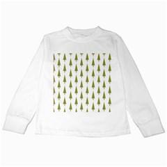 Christmas Tree Kids Long Sleeve T-Shirts by Nexatart