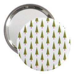 Christmas Tree 3  Handbag Mirrors