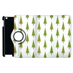 Christmas Tree Apple Ipad 2 Flip 360 Case