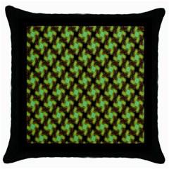 Computer Graphics Graphics Ornament Throw Pillow Case (black)