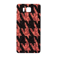 Dogstooth Pattern Closeup Samsung Galaxy Alpha Hardshell Back Case by Nexatart