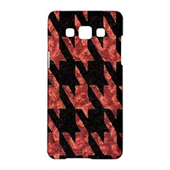 Dogstooth Pattern Closeup Samsung Galaxy A5 Hardshell Case  by Nexatart