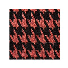 Dogstooth Pattern Closeup Small Satin Scarf (square) by Nexatart